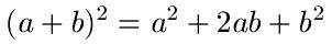 Binomische Formeln Erklärung 1