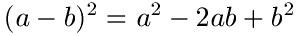 Binomische Formeln Erklärung 2