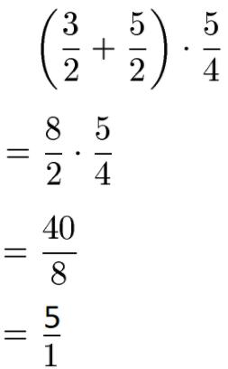 Bruch kürzen: Zahlen und Variablen