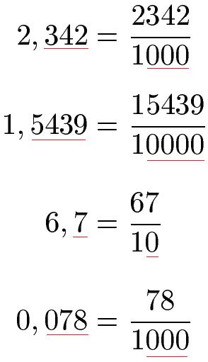 Superbe Dezimalzahlen In Bruch Umwandeln Beispiel 1