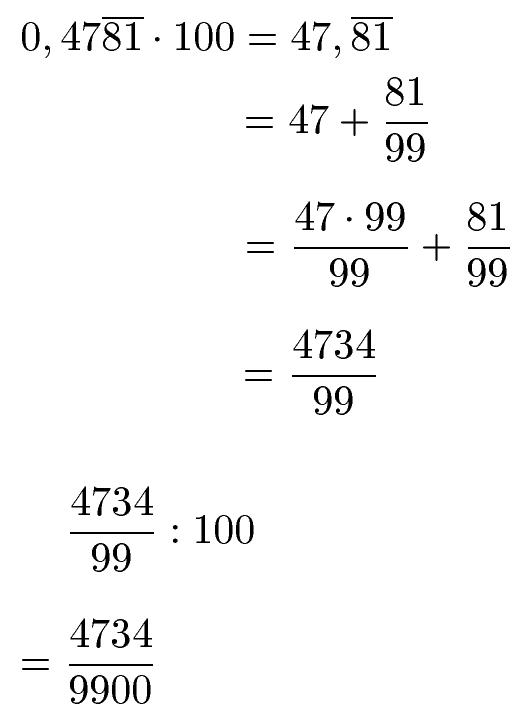 Dezimalzahlen In Bruch Beispiel 4