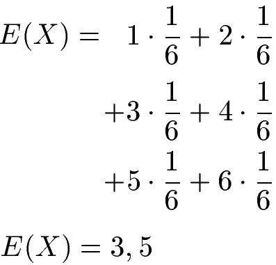 Erwartungswert Berechnen