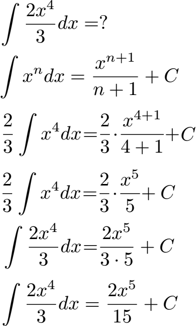 Summenregel Integral Integrieren 9