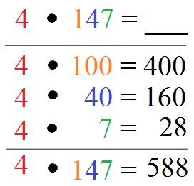 Halbschriftlich Multiplizieren / Multiplikation