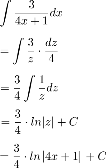 Integration Durch Substitution 4