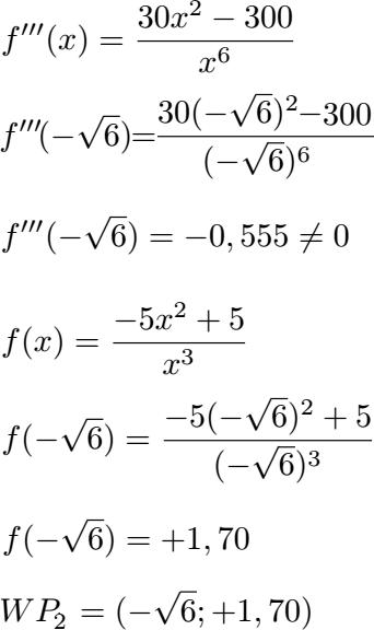 Kurvendiskussion Beispiel Mit Ausfuhrlichen Schritten 15