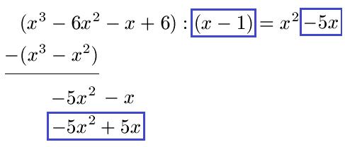 Polynomdivision: Erklärung und Beispiele
