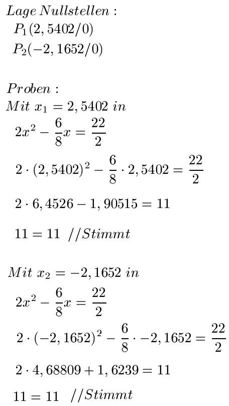 PQ-Formel: Erklärung und Beispiele