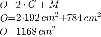 Prisma Formeln: Volumen, Oberfläche ...