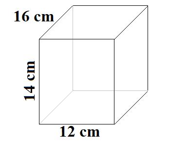 volumen quader formel