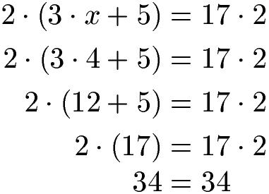 Beispiele Gleichungen Mit Klammern 2