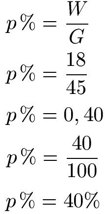 Prozentsatz / Prozentzahl berechnen