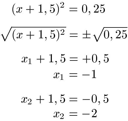 Quadratische Erganzung