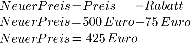 Formel Rabatt Berechnen