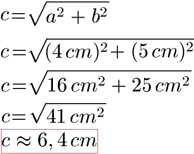Satz Des Pythagoras Beispiele Formeln Und Anwendung