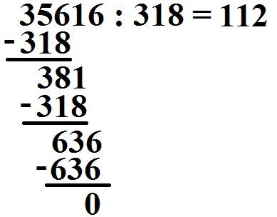 Schriftlich dividieren mit großen Zahlen