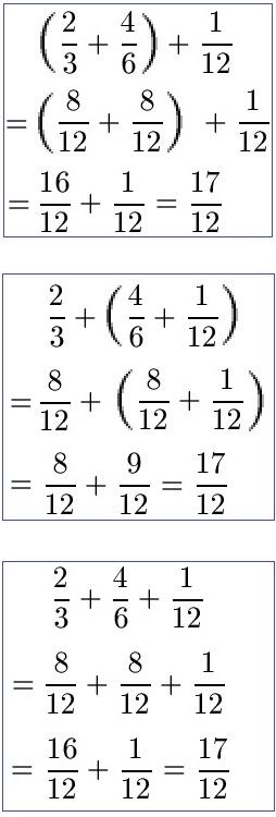Verknüpfungsgesetz / Verbindungsgesetz Mathe