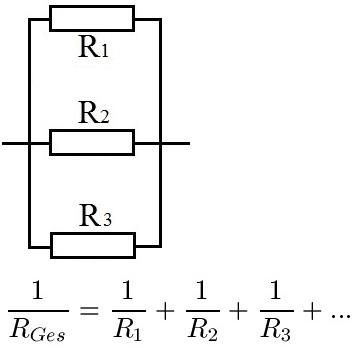 Parallelschaltung Widerstände Berechnen : reihenschaltung und parallelschaltung beispiele formeln etc ~ Themetempest.com Abrechnung